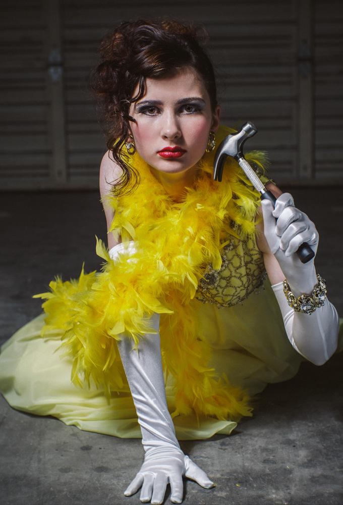 Photographer: Darkroom Portraits  Camera/Film: NEX7  Model: Joy Green  MUA:Crystal Johnson