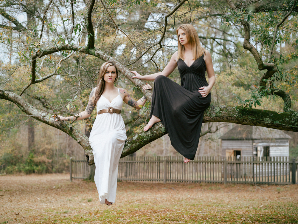 Camera: Mamiya ZD  Model: Carmen  Whitaker, Summer Myers