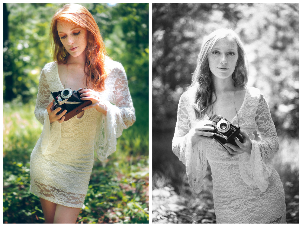 Model:Meagan Hamilton  Cameras used: Sony A7, Mamiya 645D  Lens:Sonnar T* FE 55mm F1.8 ZA  Film: HP5+