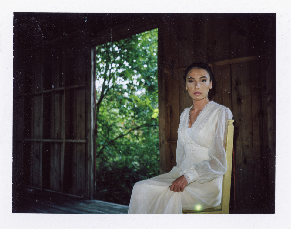 Model: Tay Car   Camera used: Land Camera 450   Film: Fuji FP-100C (Peeled after 90 secs)
