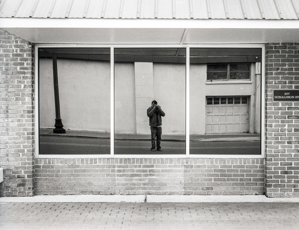 Self Portrait  Camera: Koni Omega Rapid M