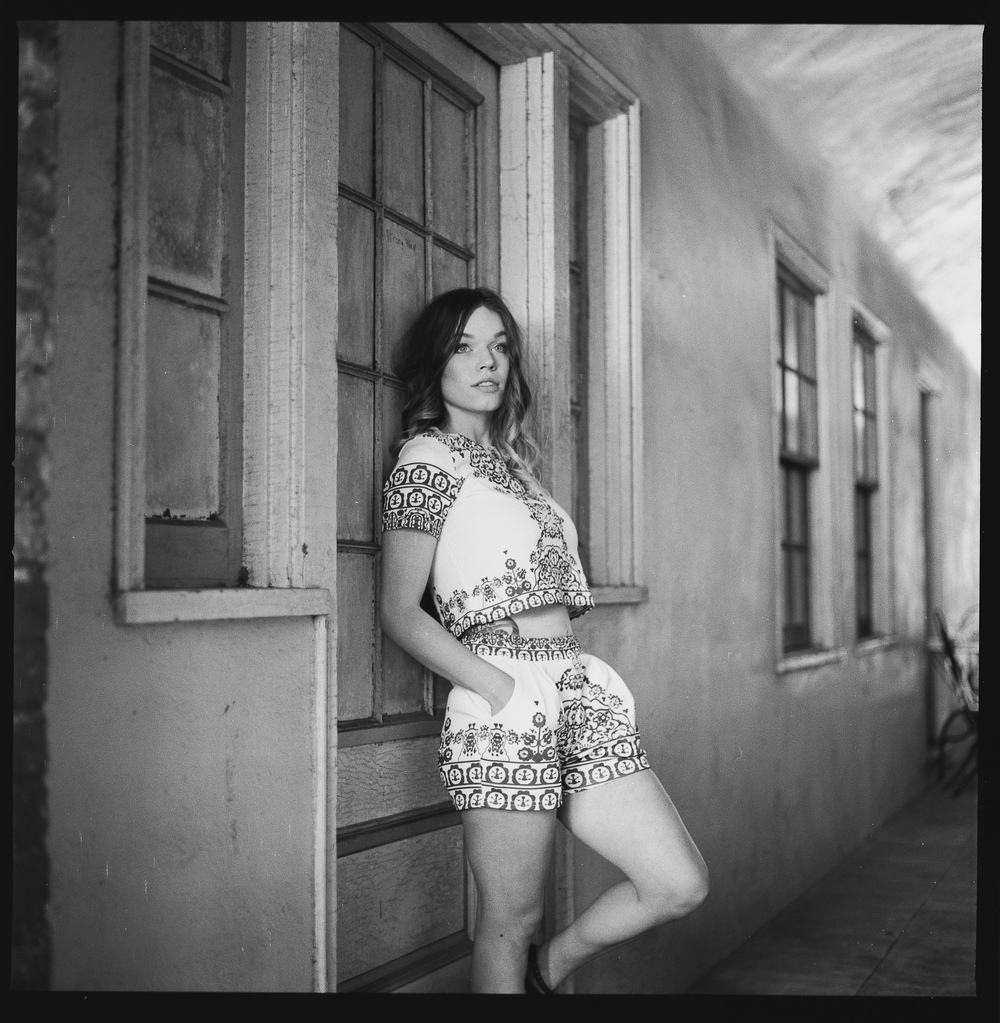 Model: Alisha Ingram  Cameras used: Hasselblad 501CM  Film: Hp5+ 120 medium format