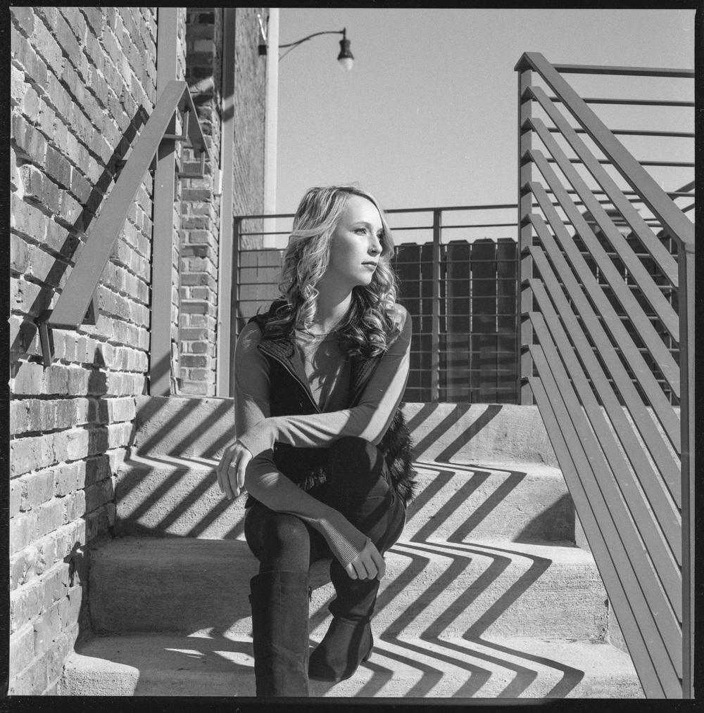 Model: Nicolette Grenier  Cameras used: Hasselblad 501CM  Film:Hp5+ 120 medium format
