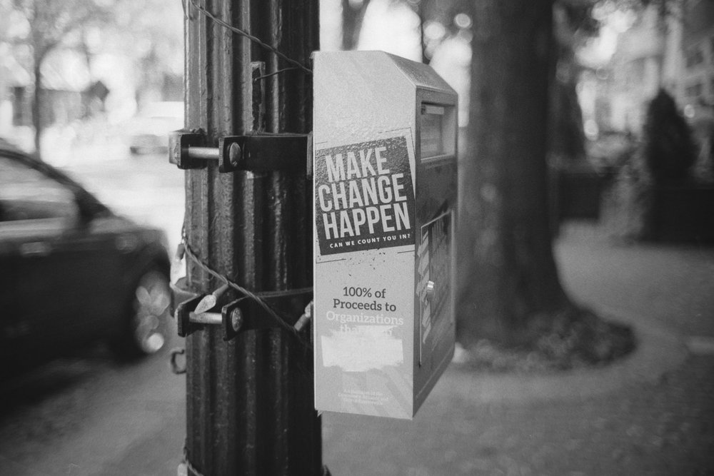 Camera: Minolta CLE  Lens: 40mm M Rokkor  Film: HP5 @ 800