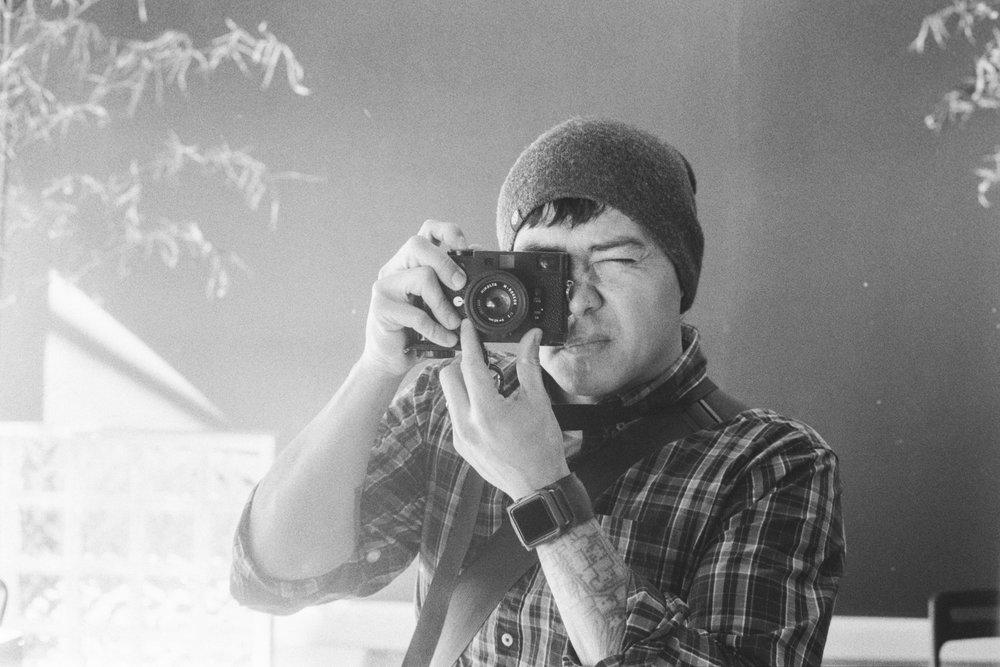Camera:Minolta CLE  Lens: 40mm M Rokkor  Film: HP5+ plus rated at 1600