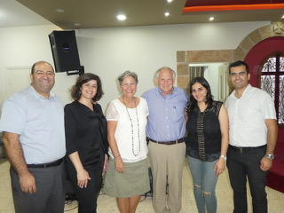 Pastor Nahid and Pastor Elias are being used mightily by God to lead the congregation at Immanuel Evangelical Church of Bethlehem.