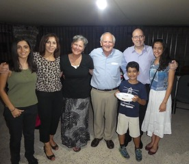Pastor George and his family are very committed to this congregation at AlRaja Church in Amman.