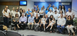 The Family Ministries team, serving the Middle East. Bassam and Pascal (the directors) are front row, far right.