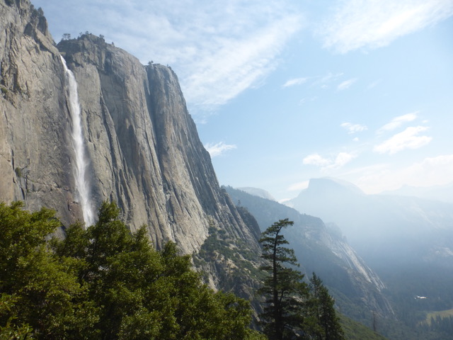 Yosemite Falls—breathtaking.