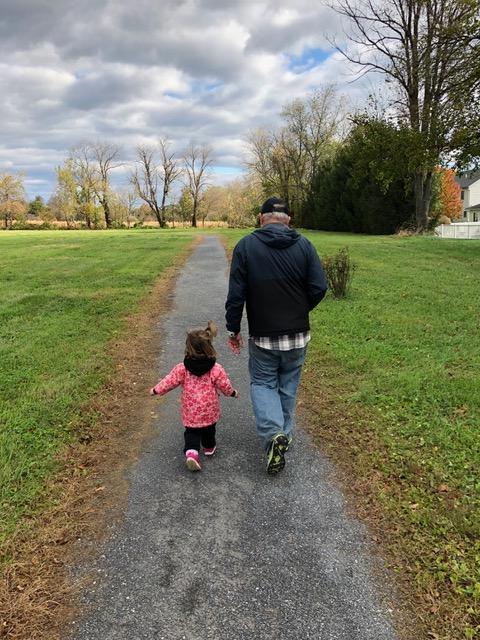 Papa and Rachel