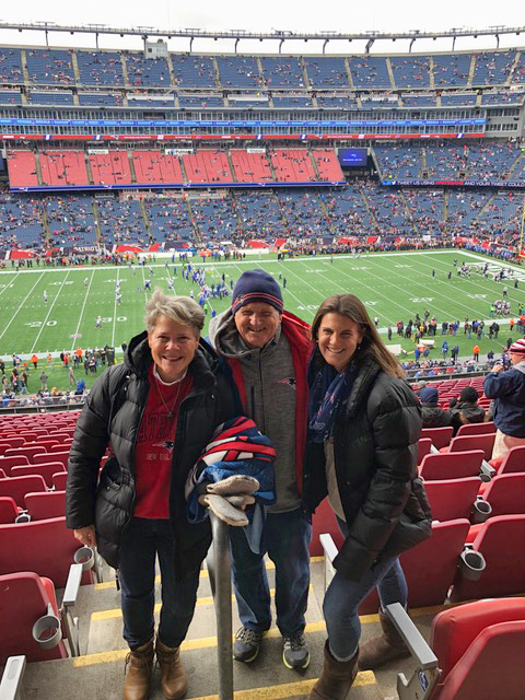 Pretty great day at Gillette Stadium on Christmas Eve, as the Patriots came up with another win.