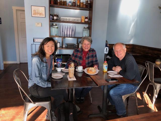 Coffee with Tori Copley in Cheney, WA.
