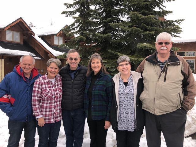 """Mark and Sharon Blazer and Justin and Marilyn Schuck did a great job of planning and hosting the weekend. These are """"salt of the earth"""" couples."""