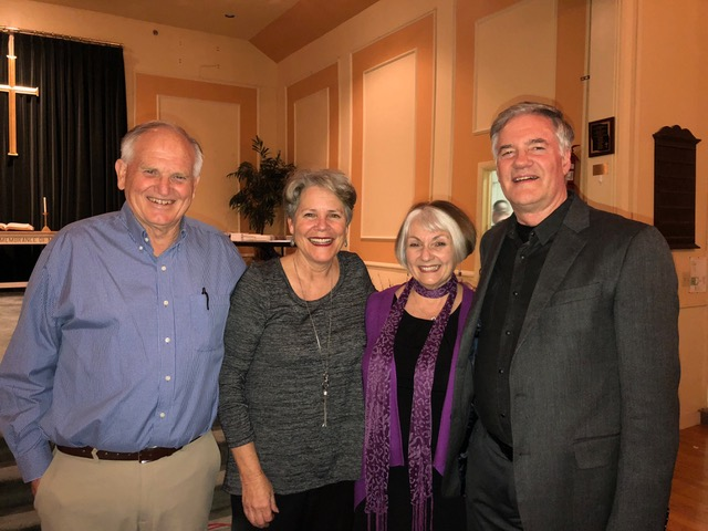 """Drs. Ken and Connie Lawrence are provided godly leadership for the """"flock"""" in Hampton Falls."""