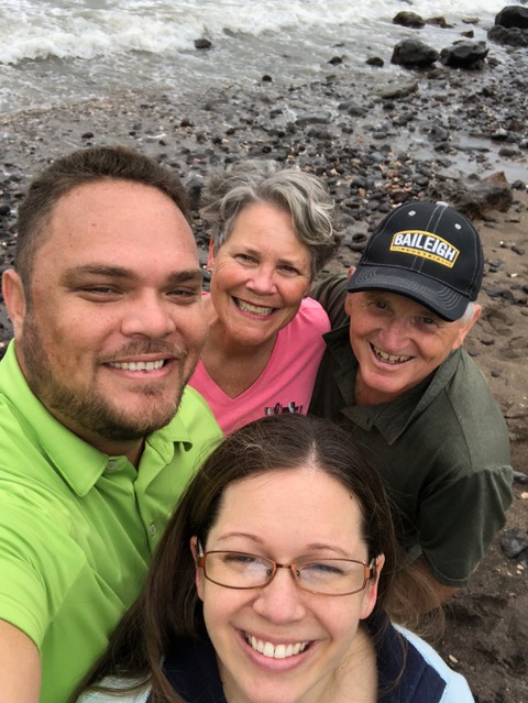 The last day we were in Kauai, Paul was well enough to be up and about and we had a lovely excursion with Isaac and Rachel, who have come to the marriage conferences each year and have become very dear to us.