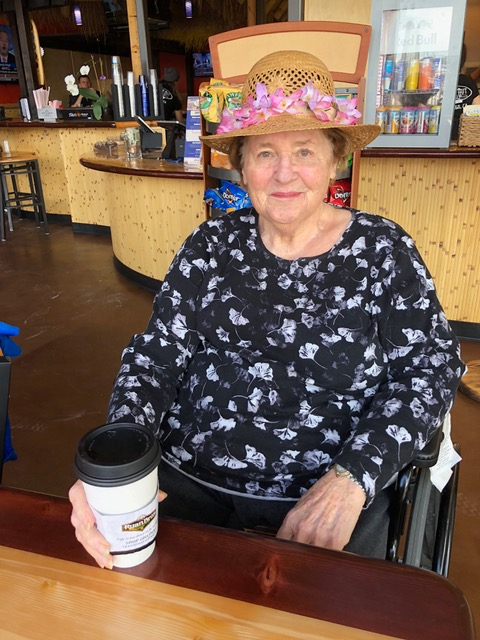 Isn't she beautiful? 88 and going strong. How blessed I am to have such a mom!!
