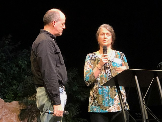 Chris and Dorothy Greco spoke on gender issues with wisdom and sensitivity.