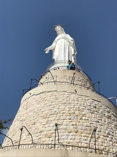 The Lady of Lebanon in Harissa.