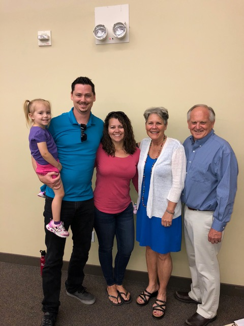 Kevin, Rawni, and little Regan Munsey dropped by for a visit before we spoke at Southwest Church. We've known Kevin since he was a really little guy and we are so thankful our journey together continues.