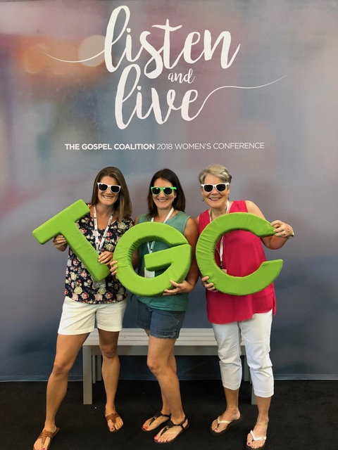 The Gospel Coalition Women's Conference was phenomenal.  Check it out for 2020, ladies!