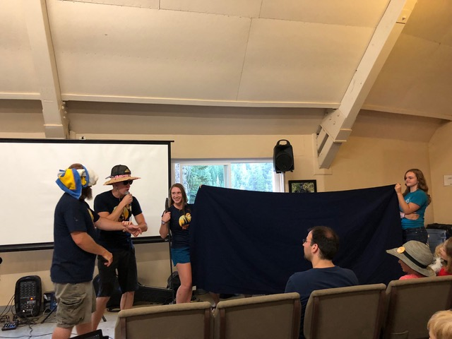 Robert and crew pull off a great anniversary skit for Jude and Andy's 25th anniversary.
