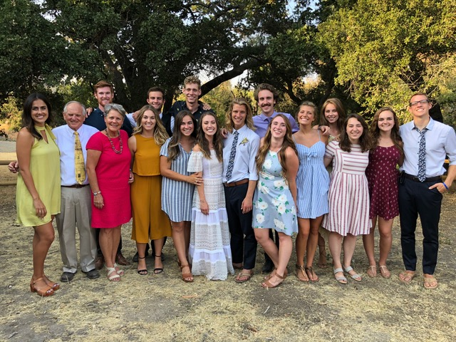 Some of the former CBS staff who attended Seth and Dorothy's wedding celebrated the marriage and the reunion.