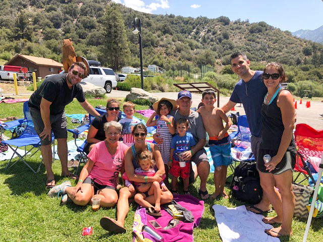 """""""Lake Day"""" at Forest Home . . . so many fun things to do as families!"""