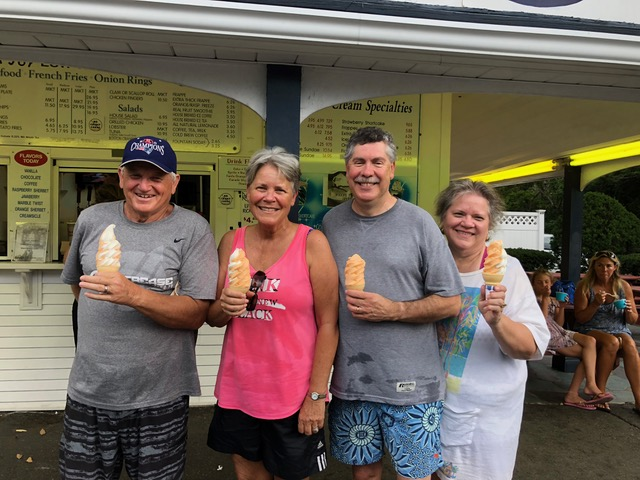 """. . .  and the """"dreamsicle"""" ice cream at Dairy Joy. What spells """"summer"""" better than this?"""