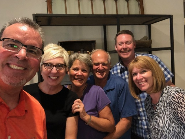 Keith and Kristen Hopper joined us at the Copleys' for dinner Saturday night and we had a wonderful evening of food and fellowship.