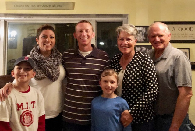 We had so much fun having the Anderson family at our home for 9 days.