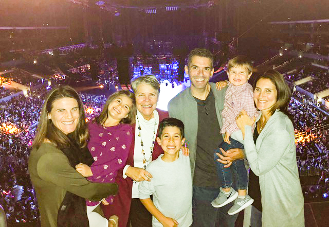 "We were so blessed by the gift of ""Disney on Ice"" with the Garcias on my ""ballet"" weekend."