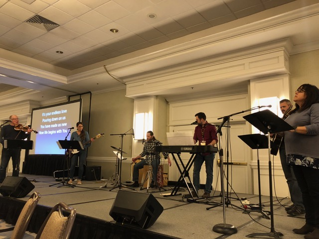 """The worship team was well-received and so very inspiring. Worship was heartfelt and """"fully alive."""""""