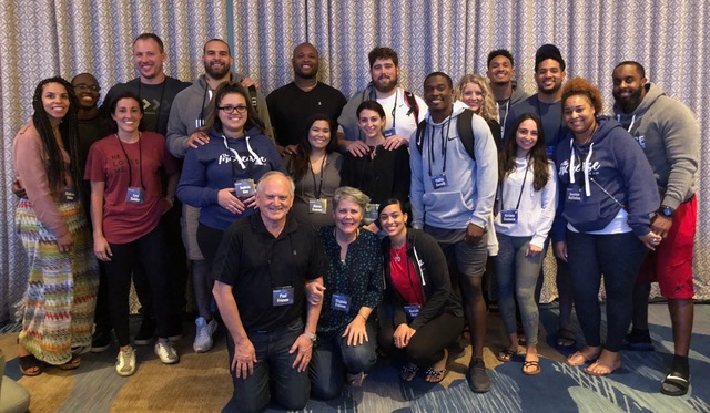 Many of the Patriots couples who attended the conference, but not all. Great representation!!