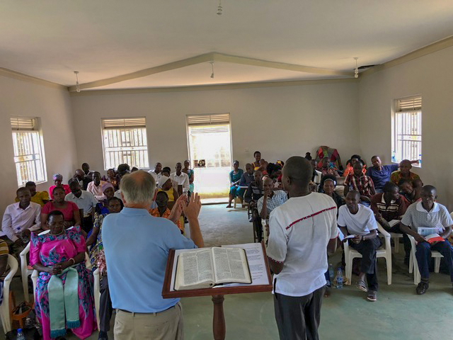 The first Baptist church planted in Wanale 11 years ago was the site for this all-day conference, and pastors and staff came from all over the mountain to take advantage of this free training.