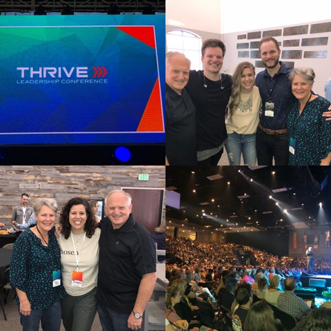 Some of our dear friends were at Thrive . . . along with about 3500 others. :)