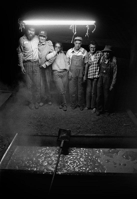 Molasses Making at Elden Henderson's House, Big Pine, 1978.