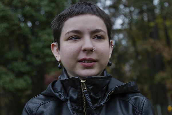 Corey Gradin on Her Seventeenth Birthday, November 12, 2013, Durham, NC.