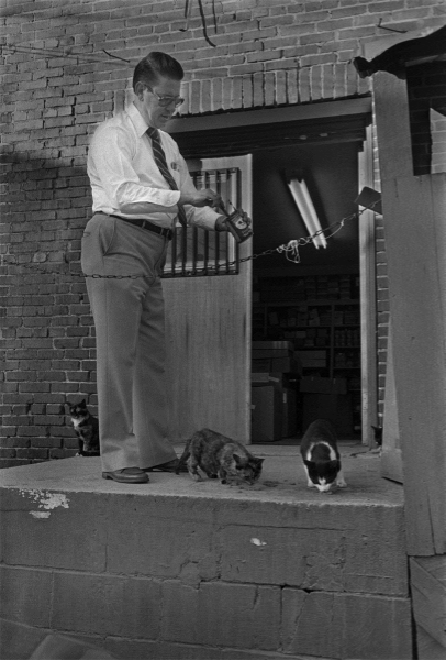 George Penland, Marshall, 1983.