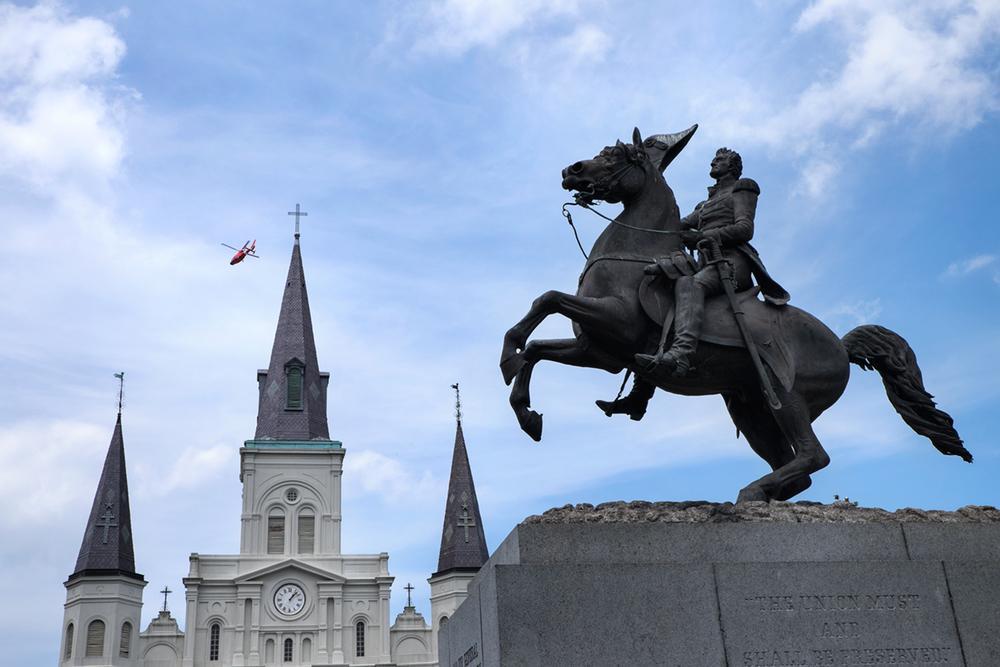 Jackson Square, New Orleans, LA 2015