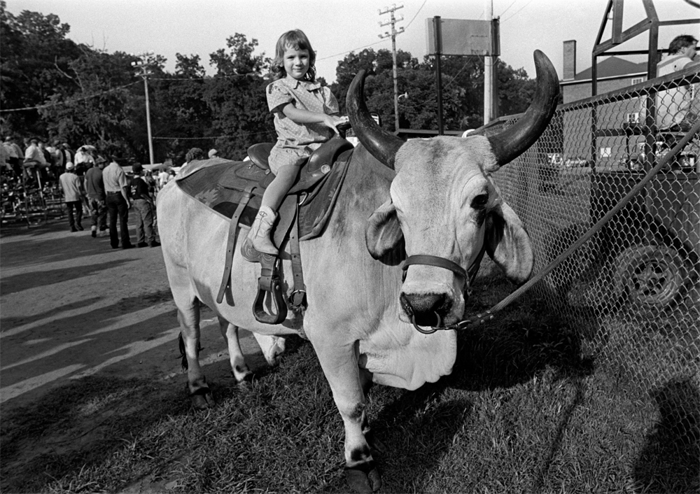 At the Marshall Rodeo, Marshall, 1995.
