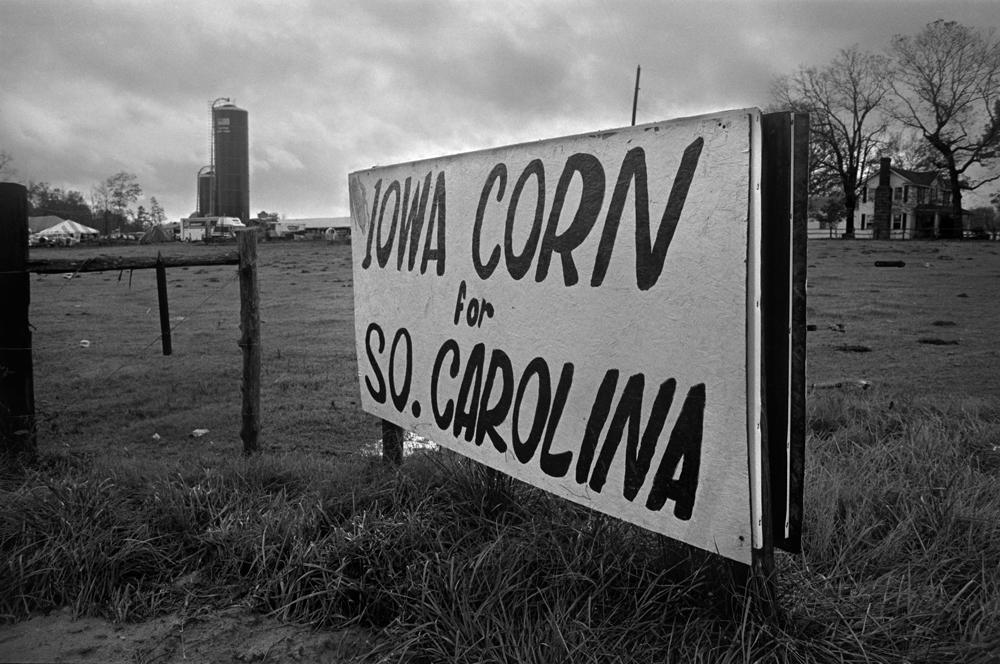Farm Rally, South Carolina, 1986.