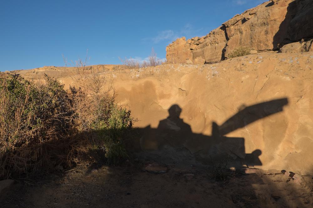My Morning Light, Chaco Canyon, New Mexico 2015