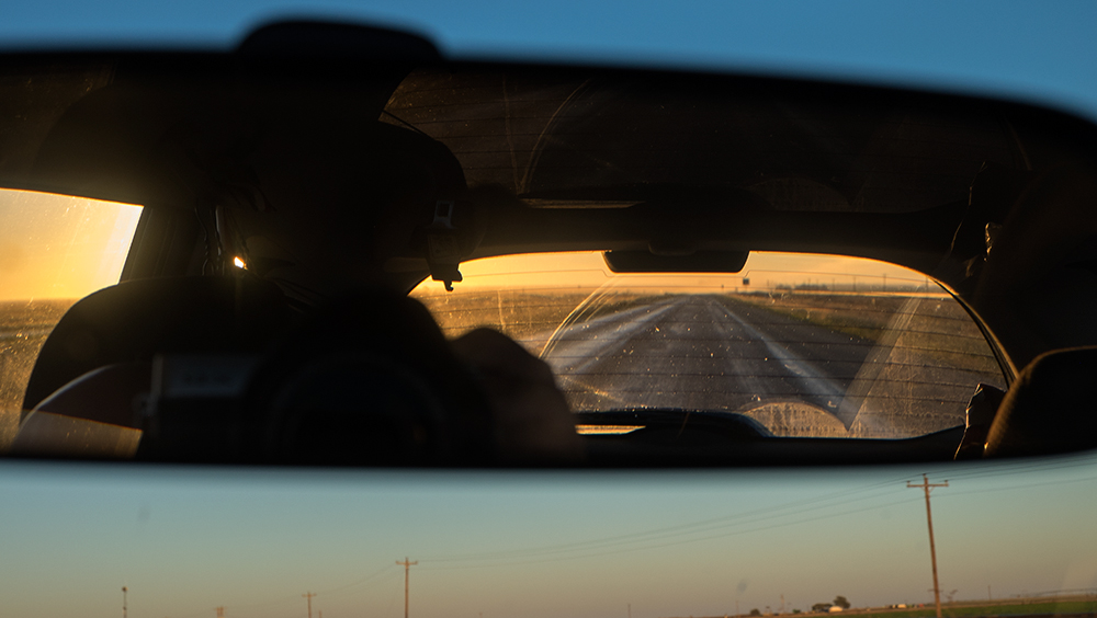 Into West Texas, near Clovis, 2015