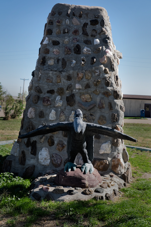 Town Sculpture, Scenic, South Dakota