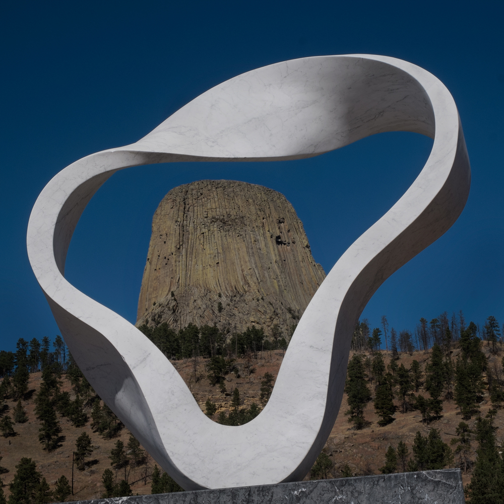 The Circle of Sacred Smoke, Devils Tower National Monument, Wyoming