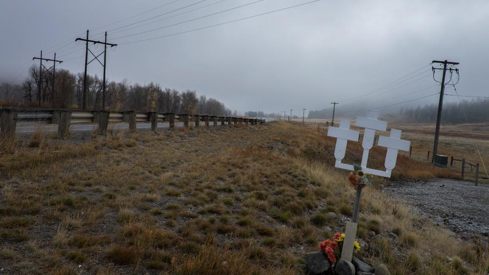 Highway 212, west of Helena, Montana