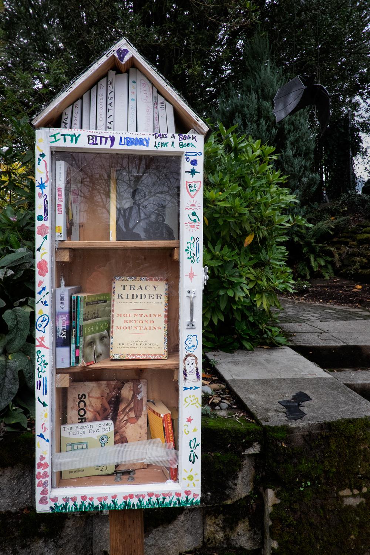 Neighborhood Library, NE Portland, Oregon