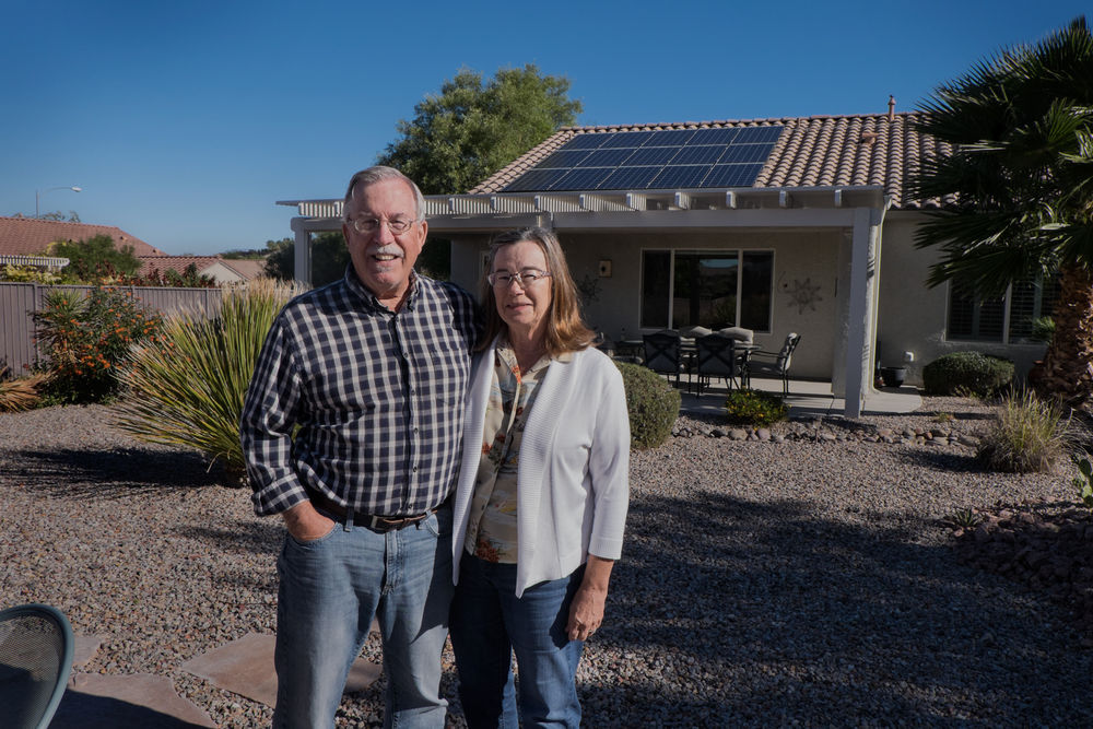 Jean and Greg Pardee, Henderson, Nevada