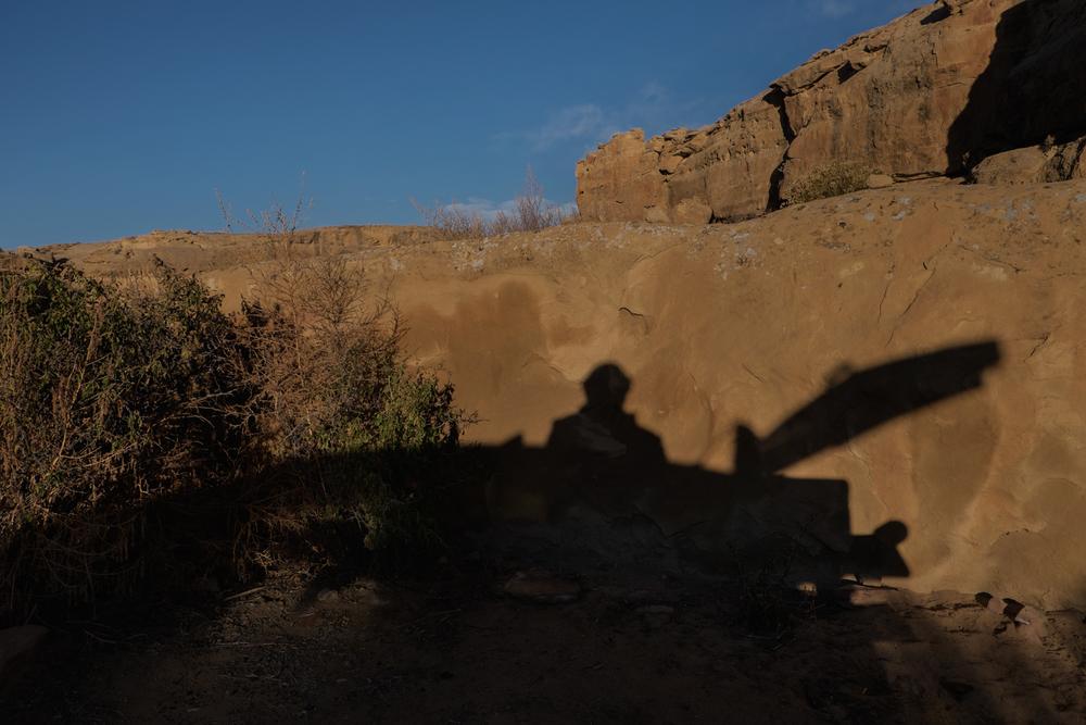 Sunrise, Chaco Canyon, New Mexico