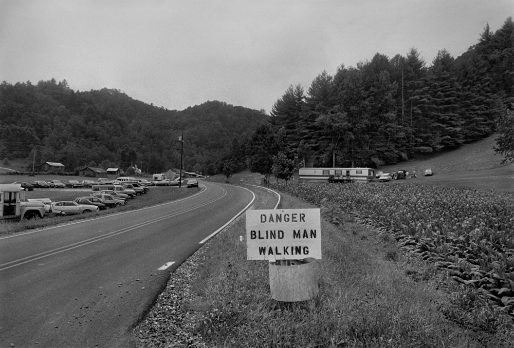 Highway 212, Shelton Laurel, Madison County, NC 1998 - from The New Road: I-26 and the Footprints of Progress in Appalachia
